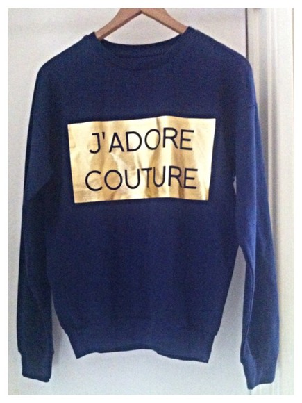navy jumper sweater navy jadore couture navy blue sweater jadore-fashion couture baby fashion fashion print fashion photography style styling my life