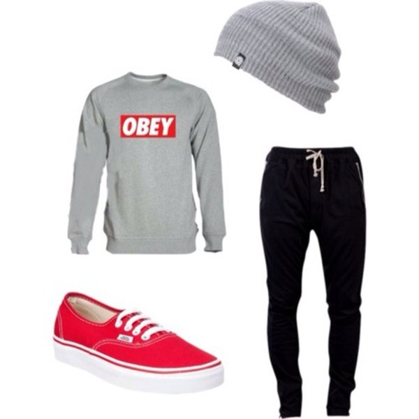 sweater obey pants