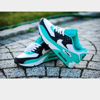 shoes aqua nike air max green sports shoes sneakers