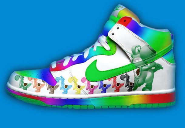 shoes yoshi rainbow need shoes