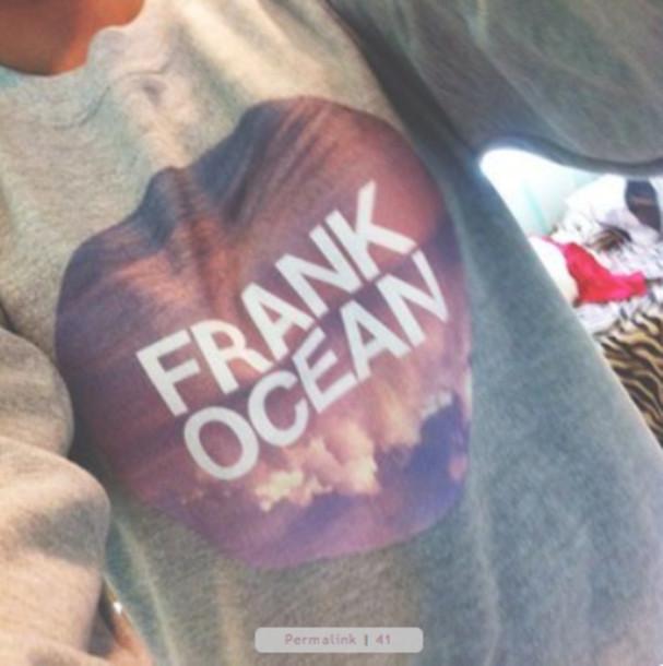 sweater frank ocean sweatshirt