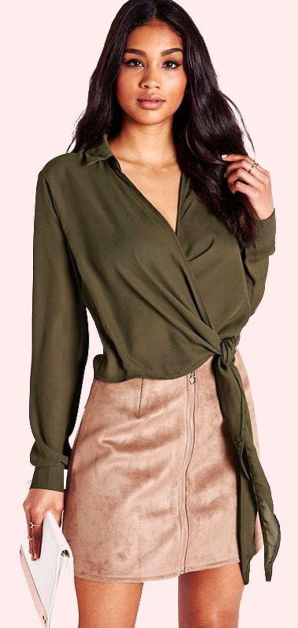 top chiffon summur blouse summer top summer holidays casual casual top casual shirt office outfits office outfits sexy deep  v army green army green green long sleeves party top style stylish stylish top plunge neckline plunge top plunge v neck fashion fashion top skirt top crop cropped crop tops dark olive green bow bow top preppy tumblr tumblr top musthave cool hot Stylish outfit fashion toast fashion vibe fashionista afshionista preppy fashionist fashion coolture girly pretty cute cute top fashion inspo american apparel asos style scrapbook lookbook moraki turn down chiffon shirt