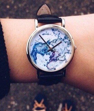 nail accessories cute watch lovely cute map blue purple time watch urban outfitters accessories accessory our favorite accessories 2015