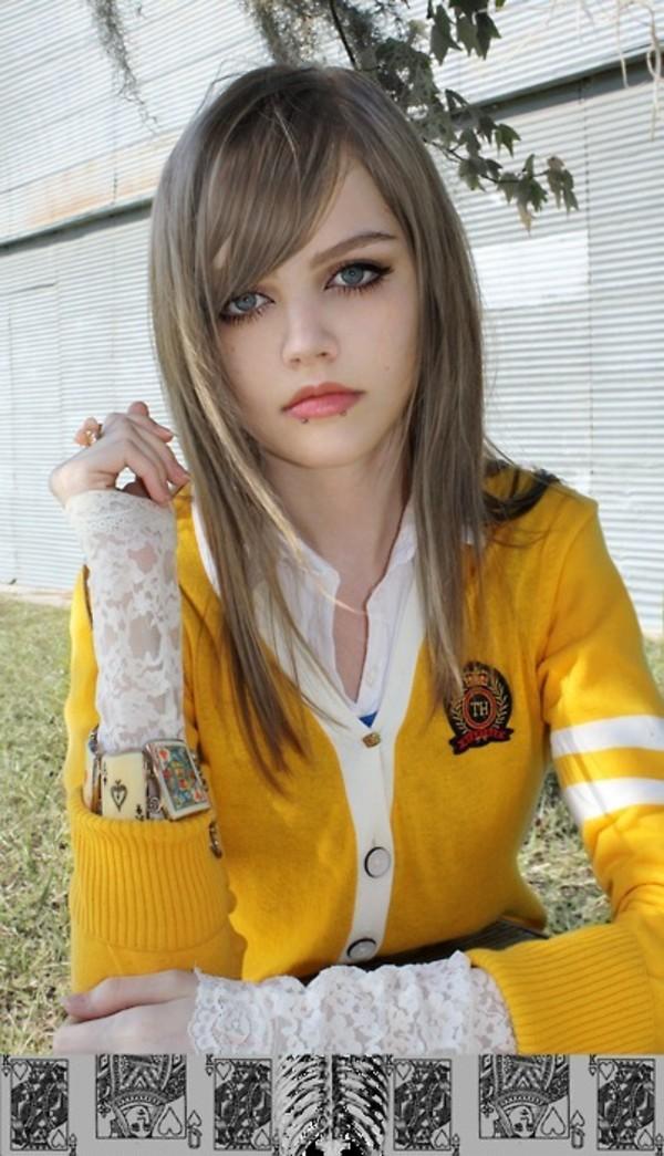 Jacket Dakota Rose Dakotakoti Kotakoti Yellow Cardigan