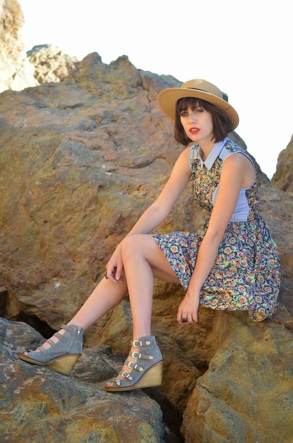 a fashion nerd dress shoes jewels hat