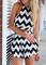 Stripe crop top & high waist short suit