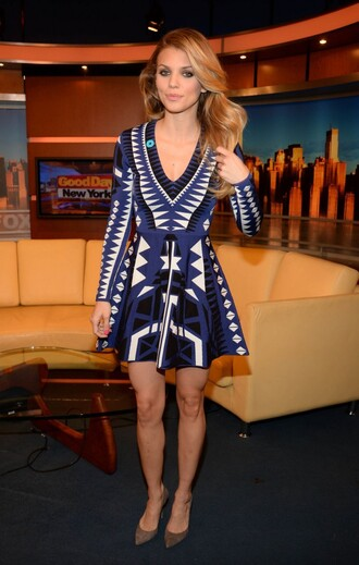 dress annalynne mccord pumps knitted dress