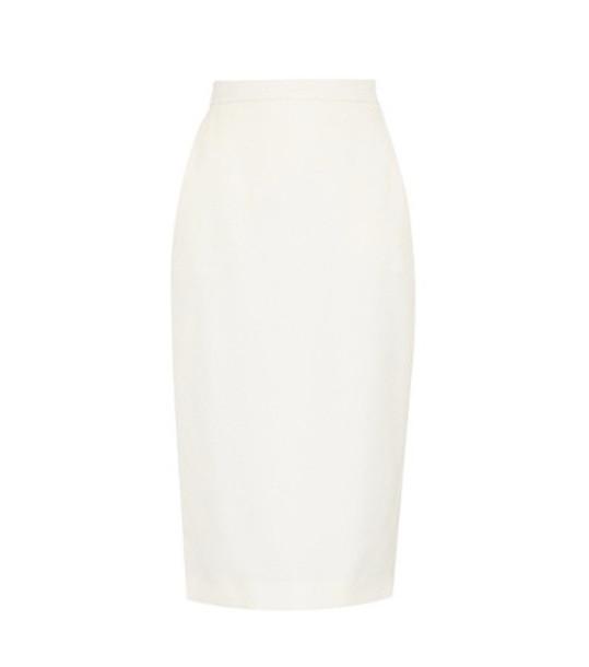Max Mara Exclusive to mytheresa.com – Dalmine wool midi skirt in white