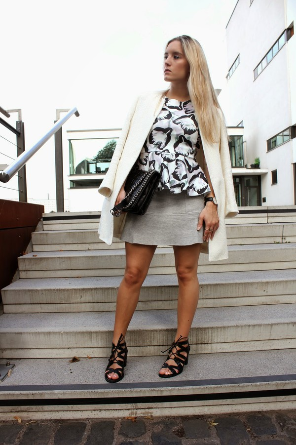 fashion twinstinct top skirt bag shoes jewels