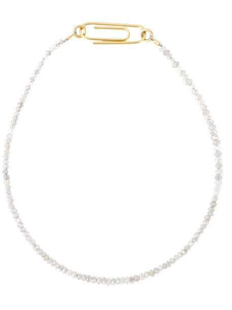 Uzerai Edits women gold grey metallic jewels