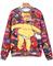 Food simpson print red sweatshirt