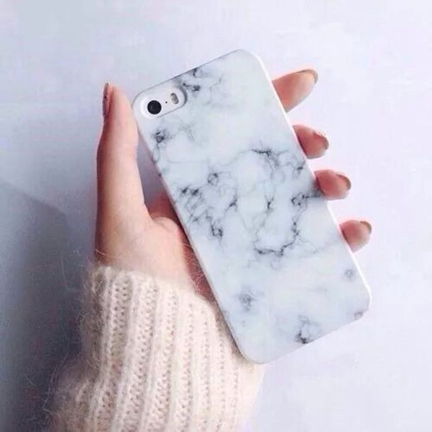 Phone Cover Marmer Fashion Style Marble Hipster