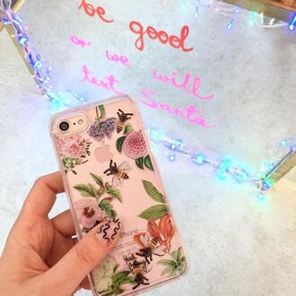 phone cover yeah bunny bee iphone cover floral flowers