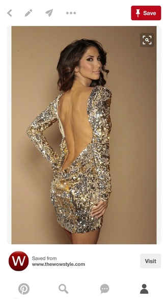 dress backless bedazzled jewels white brunette black sequins gold silver bodycon dress sequin dress sparkly dress silver dress
