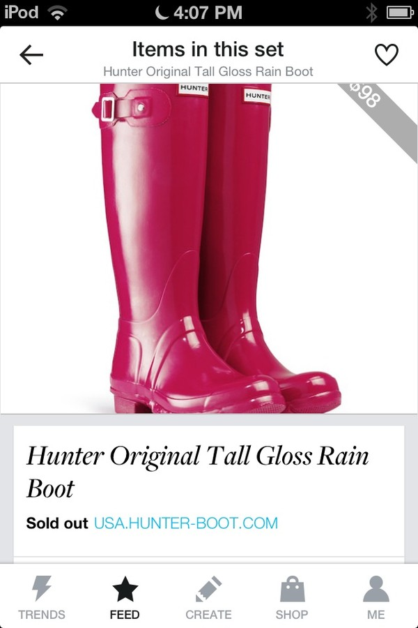 shorts rainboots