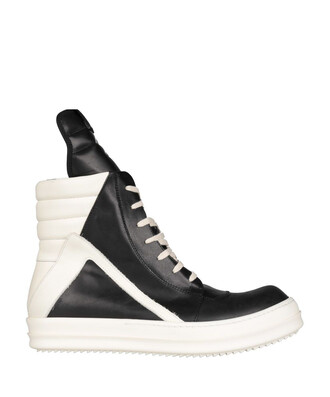 high sneakers leather shoes