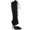 Kardashian kollection deville womens knee high boots