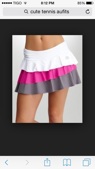 skirt tennis outfitts