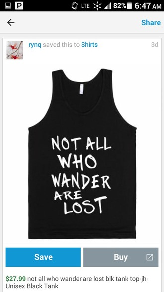 tank top quote on it black tank top tumblr shirt