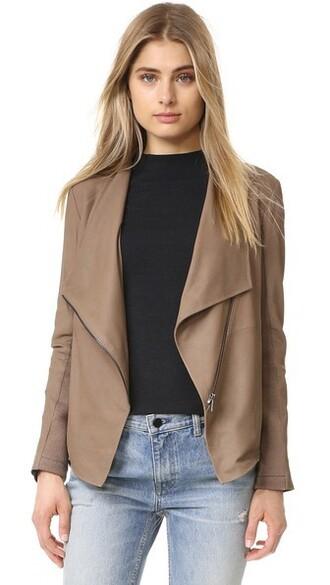 jacket leather jacket soft leather