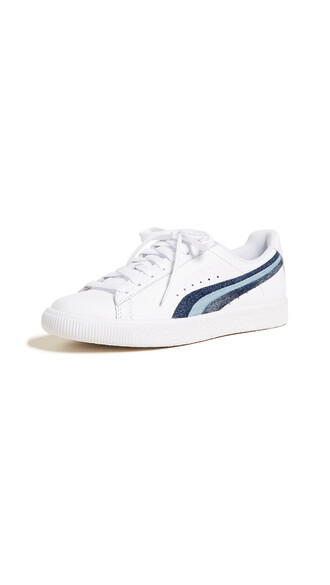 denim sneakers leather white shoes