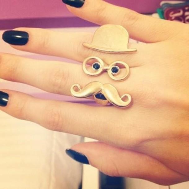 jewels moustache moustache