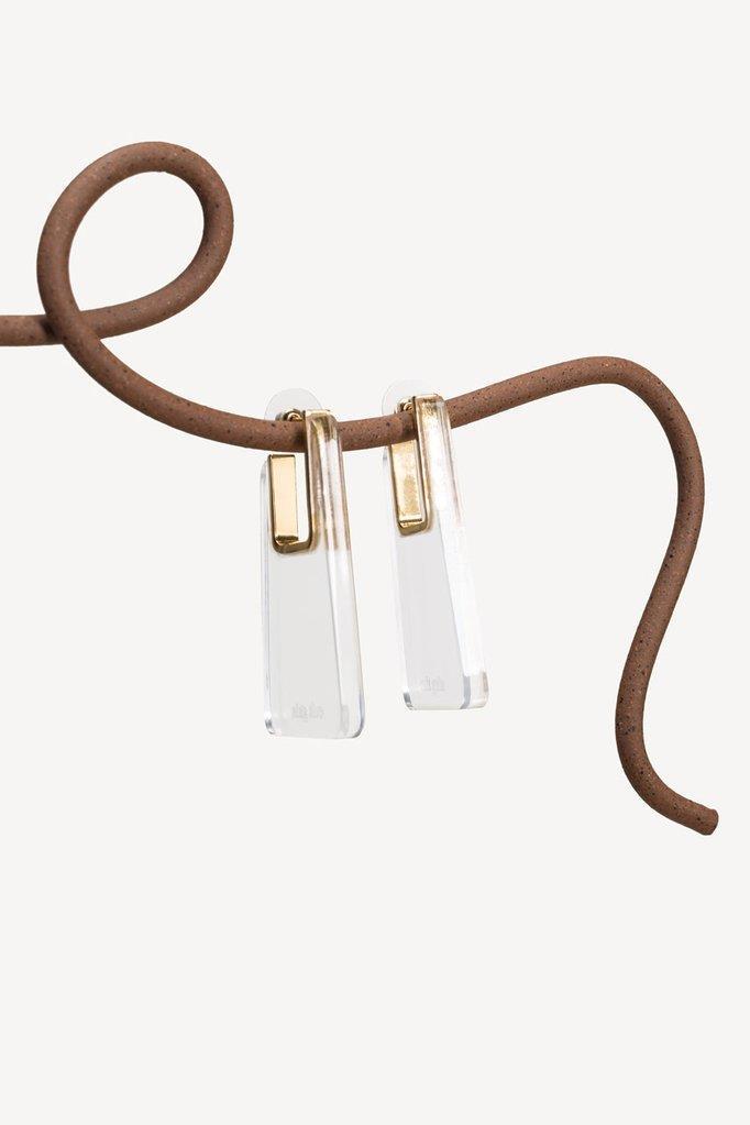 Melina Earring - Clear