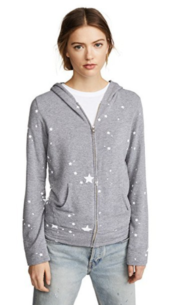 hoodie zip dark sweater