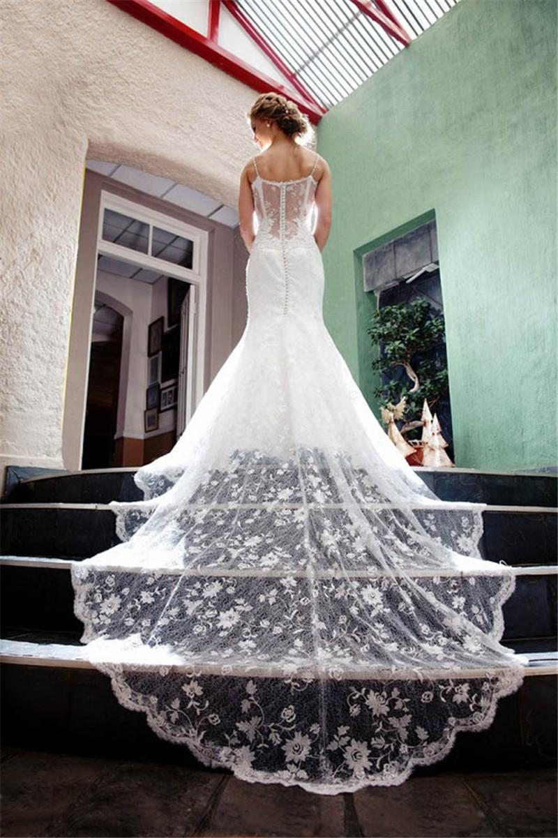 2016 Real Pictures Photo Berta Wedding Dresses White Ivory