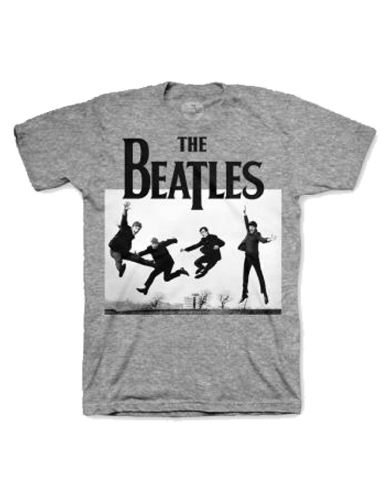 The Beatles Jump Photo Heather Mens T-Shirt
