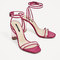 Vinyl high heel sandals - shoes-woman-collection aw/17 | zara macedonia