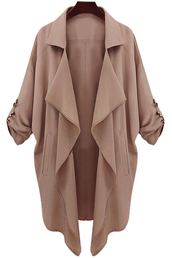 jacket,brown,fall outfits,style,trendy,casual,taupe,fashion,long sleeves,zaful,coat,trench coat,winter coat,beige,beige jacket