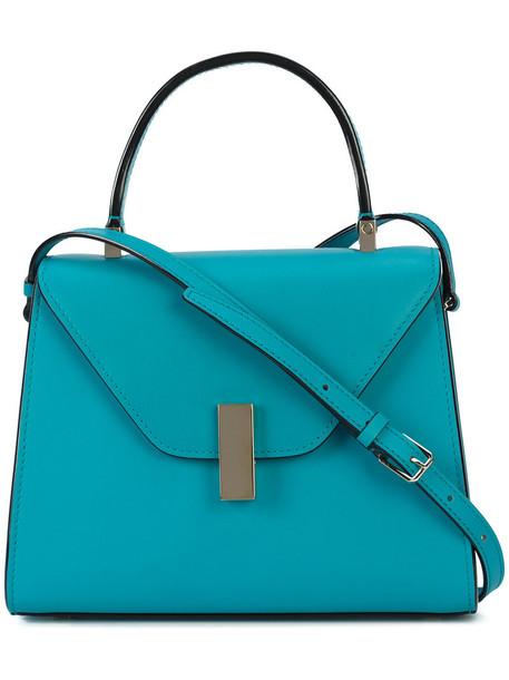 women bag crossbody bag leather blue