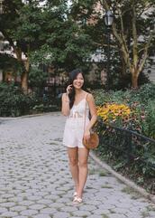 skirttherules,blogger,romper,bag,jewels,shoes