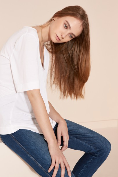 The fifth t-shirt shirt t-shirt white top
