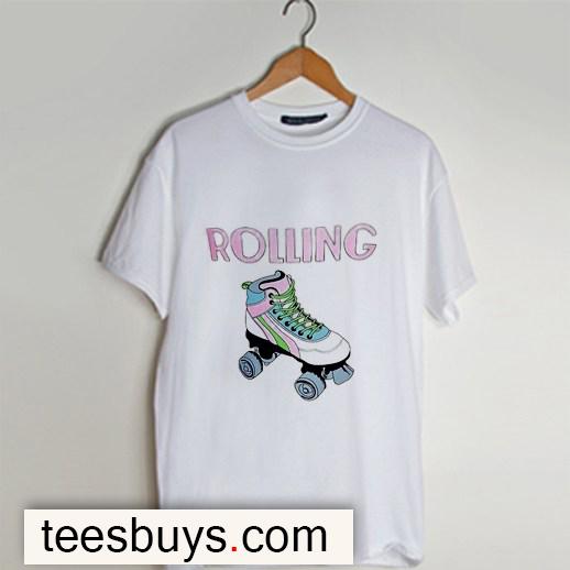 Roller Girl t-shirt - Teesbuys Online Shop