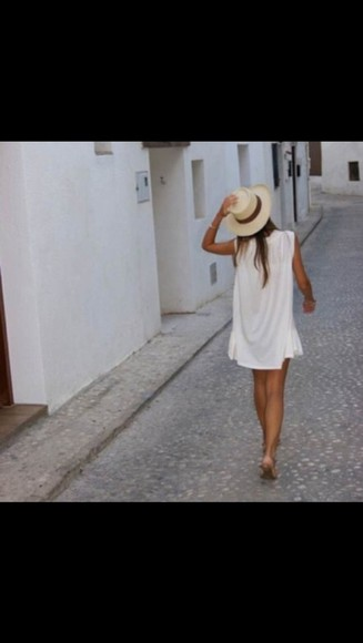 white tank top white tank top white top top blouse white blouse summer top white summer top dress white dress