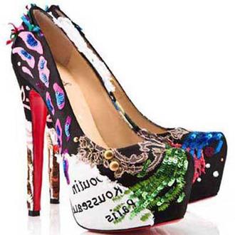 shoes christian louboutin daffodile christian louboutin 160mm christian louboutin platforms christian louboutin women multicolor christian louboutin