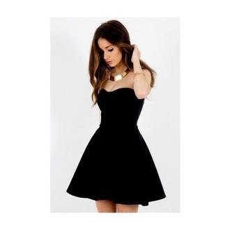 dress black dress new year's eve