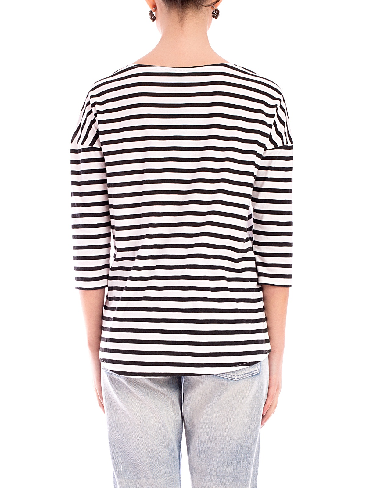 Dr Denim | Blair Tee Thin Stripe | GIRISSIMA.COM