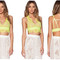 Lime bralette crop top – dream closet couture