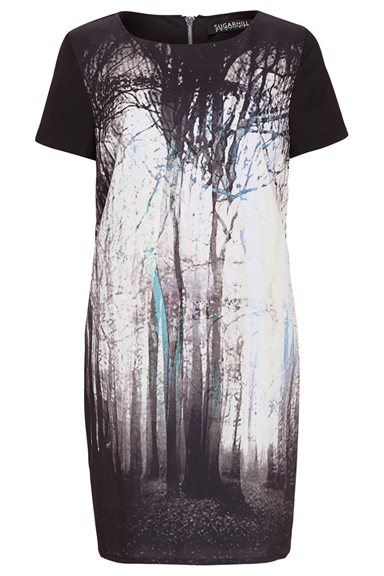 AW14 Midnight Tree Dress - Sugarhill Boutique