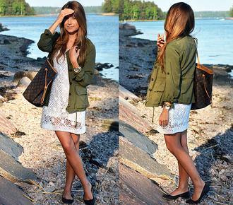 mariannan jeans jacket skirt top blogger