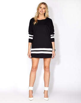 COLLEGE LONG SLEEVE DRESS - COLLEGE LONG SLEEVE DRESS - Casual Dresses