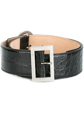 belt paisley black
