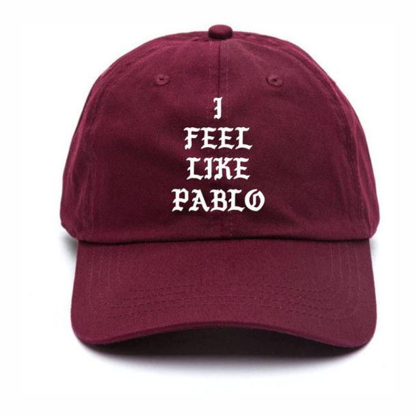 f27eaa8efee hat pablo cap i feel like pablo pablo kanye west cap cape baseball cap mens  cap