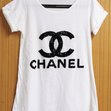 Coco Chanel T Shirts Blouse Tunic From Orinocoshop On Etsy