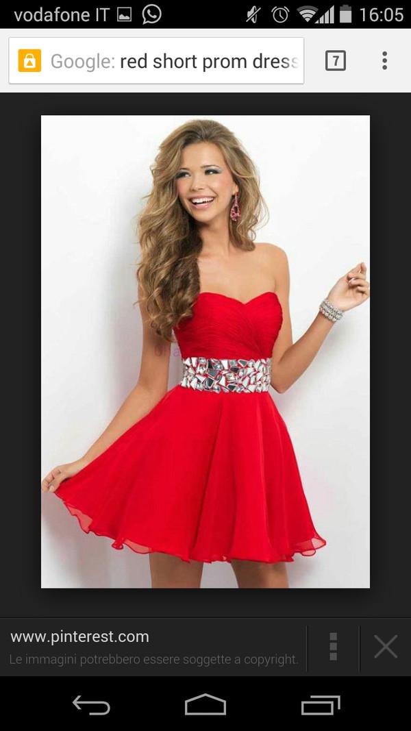 red dress prom dress lovely dress