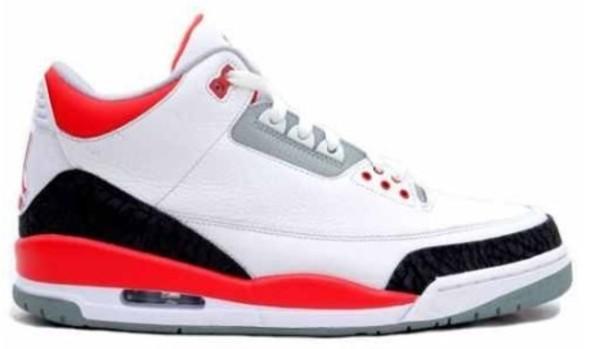 shoes jordans red black white