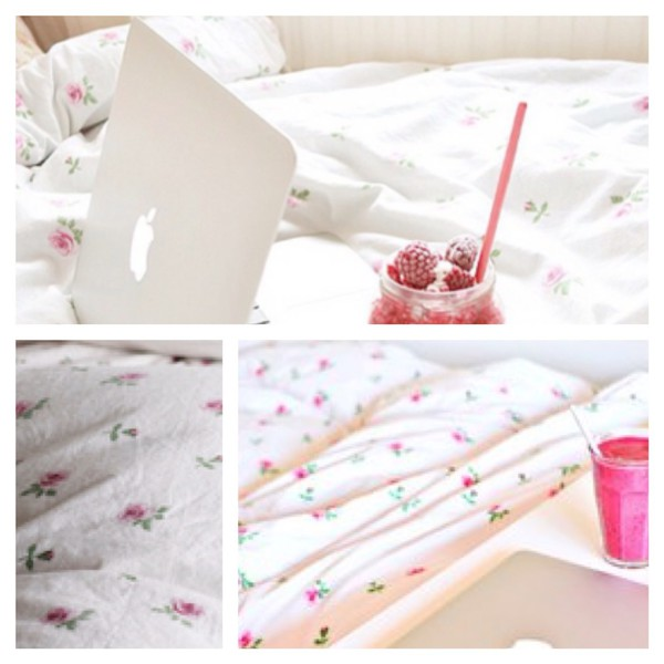 home accessory white pink home decor bedroom bedding sheets flowers tumblr room accessoires